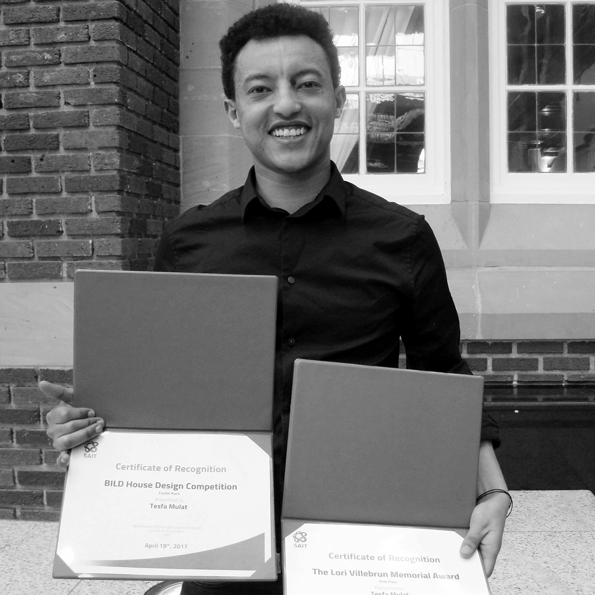 EiABC Class of '14 Alumnus, Tesfamariam Mulat, Wins Two Awards at his Graduate School