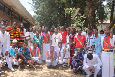 The Graduating Class of EiABC celebrated Cultures day